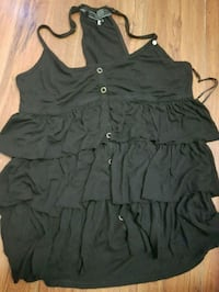 black spaghetti strap mini dress Surrey, V3R 1N9