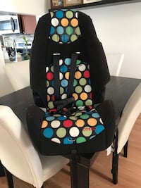 black and multicolored polka-dot bouncer 43 km