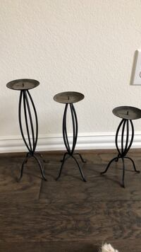 tall candle holder set Fort Worth, 76052