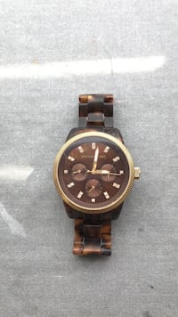 Michael Kors Tortoise Shell Watch Winnipeg, R3M 0Z8