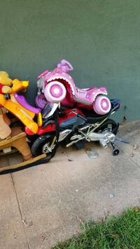 toddler's pink and white bicycle Douglasville, 30135