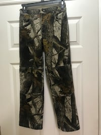 Black and gray camouflage pants Ellenton