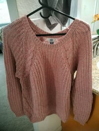 women's brown knitted sweater Stockton, 95207