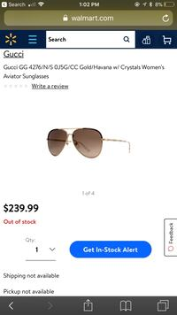Gucci women sunglasses with crystals  Pleasant Hill, 94523