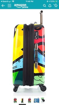 """Heys Britto hard side sided luggage set 26"""", 21"""" and beauty bag BRAND NEW IN BOX!!!! Brooklyn Park, 55445"""