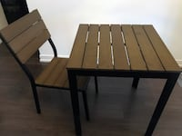 Ikea Outdoor Table and 1 Chair