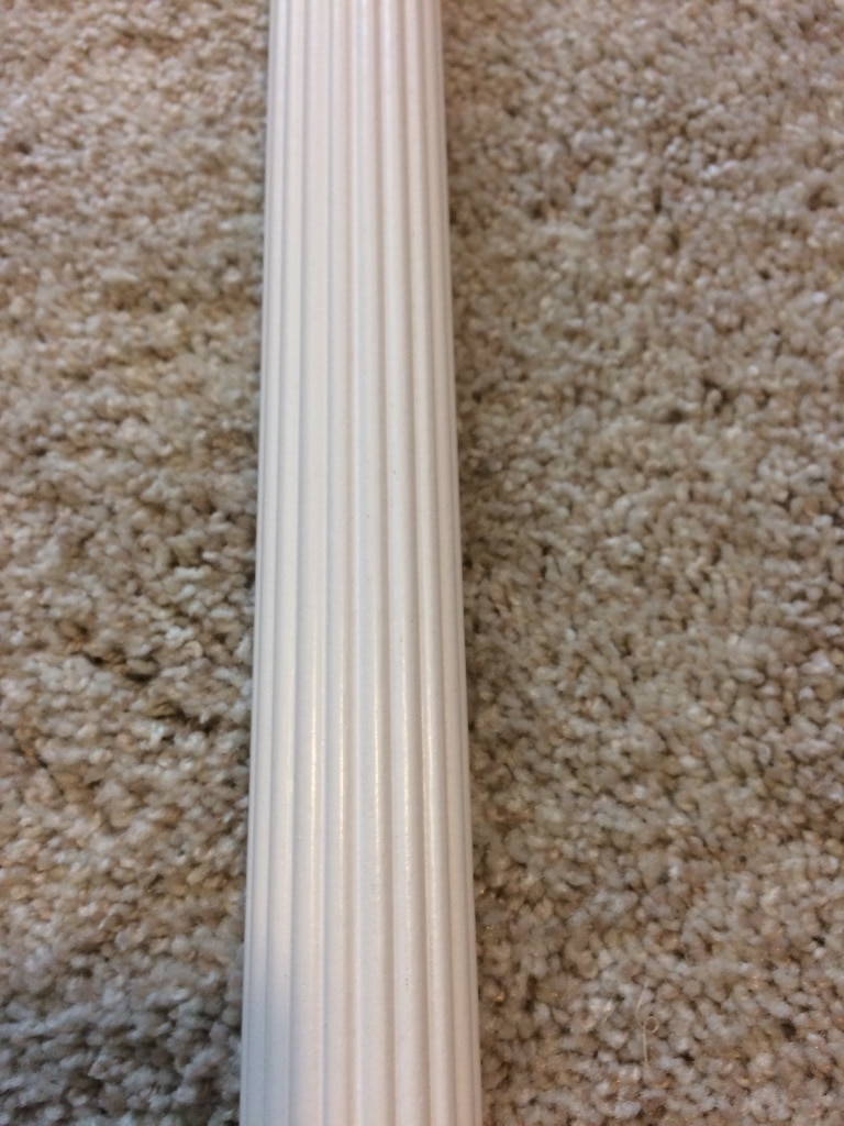 56 and 1/2 inch curtain rod.