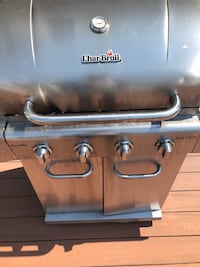 stainless steel Char-Broil gas grill 65 km