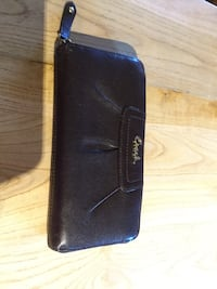 Authentic COACH brown leather wallet
