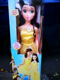 Disney Princess Beauty and the Beast Belle 3ft Doll 38in