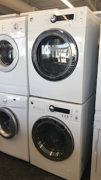 white front-load washer and dryer set Toronto, M3J