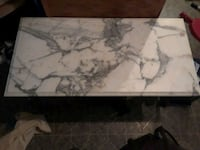 Italian marble coffee table Winchester, 40391
