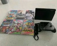 Nintendo switch with 8 games.... price is firm Vaughan, L4L 9B1
