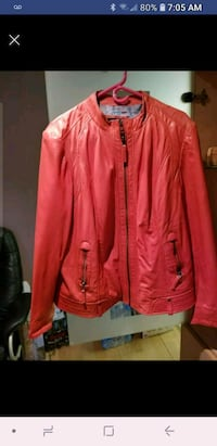 Gorgeous 3x soft red leather jacket Vaughan, L4J 8J9