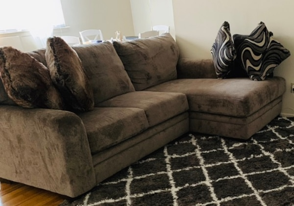 Sofa with couch. 5 month used
