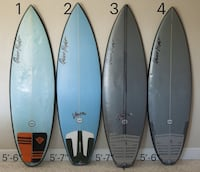 4 boards for sale . Different prices please read below