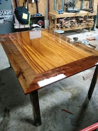 Custom-made 6ft by 4ft African mahogany with black walnut Albuquerque, 87105