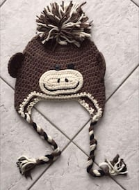 Boys Knitted Monkey Hat Vaughan, L4L 5H1