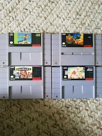Super Nintendo games 4 Fairfield, 94533