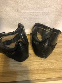 Paintball/airsoft face shields