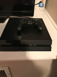 Black sony ps4 console with controller , everything works fine . We also have a couple different sports games from 17 if you'd like one or two you can buy them for $25 Pittsburgh, 15219