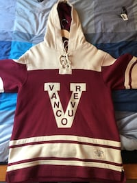 VANCOUVER MILLIONAIRES OLD TIME HOCKEY JERSEY HOODIE Surrey, V3R 5Y1