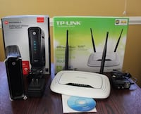 Arris/Motorola Cable Modem & TP-Link Wireless Router Rockville, 20853