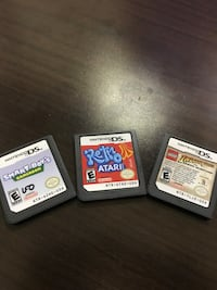 Three nintendo ds game cartridges Edinburg, 78539