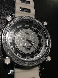 Iced out techno pave watch Moore, 73160