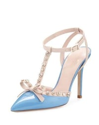 """Kate Spade """"Lydia"""" Pump, Size 8.5, in Alice Blue & Pale Pink Nappa Mississauga, L4Z 2Y9"""