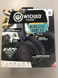 Wicked Audio ENDO Bluetooth Headphones - BRAND NEW Mississauga, L5J 1J6
