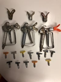 Spray Painter parts lot