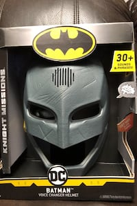 DC batman voice change helmet Toronto