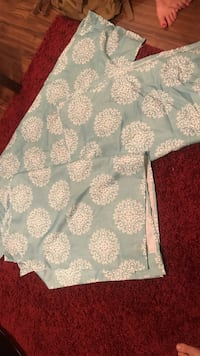 2 sets of baby blue curtains Johnson City, 37601
