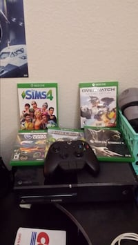 Xbox One, controller, and games. NO TRADES. $225 Tracy, 95304