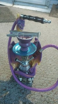 purple and gray hookah Indianapolis, 46203
