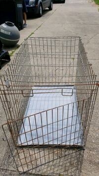 Dog crate with pan Hudson, 44236