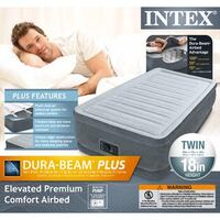 black and white Intex airbed box Los Angeles, 90044