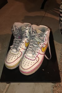 Nike Air Force Ones --High tops