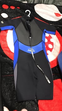 black and blue wet suit Calgary, T3M 1A1