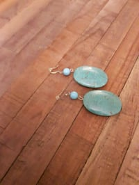 Turquoise earings Markham, L3T 7Y4