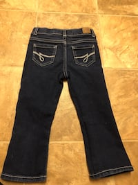 black denim straight cut jeans 462 mi