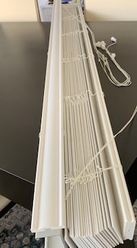 White 2 inch blinds