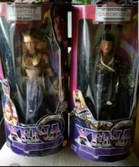 """NEW☆TWO 12"""" COLLECTABLE XENA DOLLS, Selling Both Dolls Together Tuttle, 73089"""