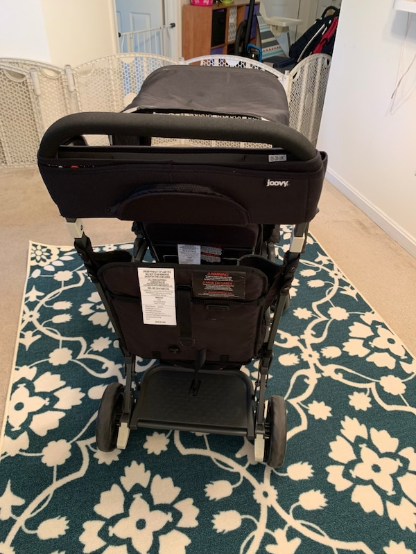 Joovy ultralight double stroller  2