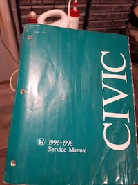 Honda civic service manual London, N6H 4W9