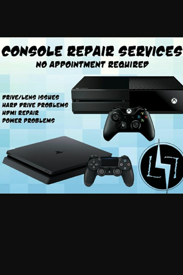 PS4 XBOX ONE REPAIRS