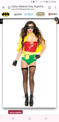 women's green and red costume Avondale, 85323