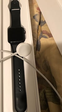 black Apple watch with black sports band Cheverly, 20785