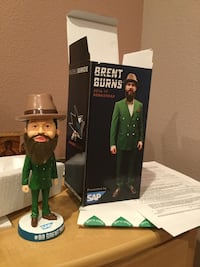 2016-17 Brent Burns bobblehead with box